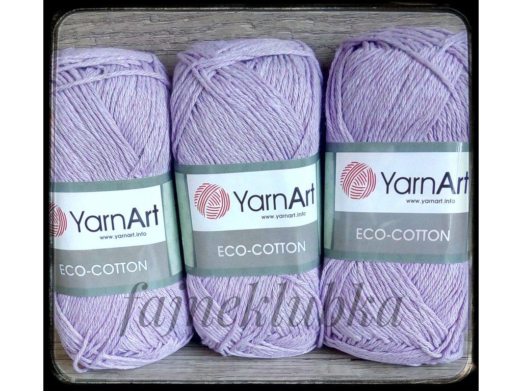Eco Cotton 771 Světle fialová