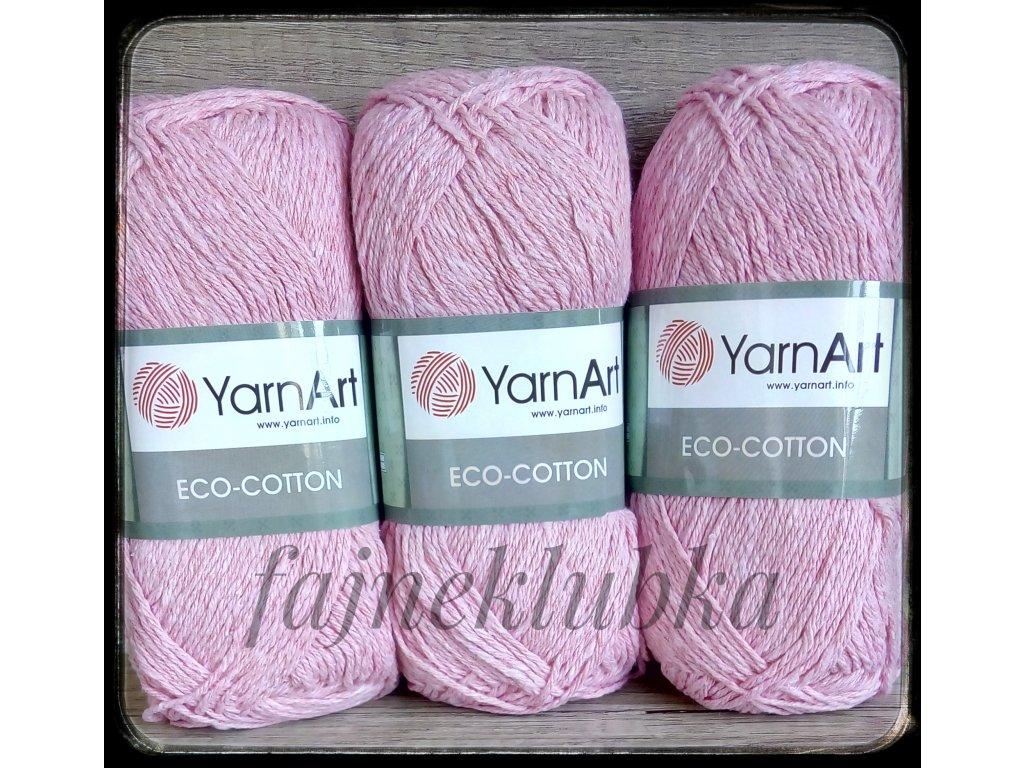 Eco Cotton 766 Růžová