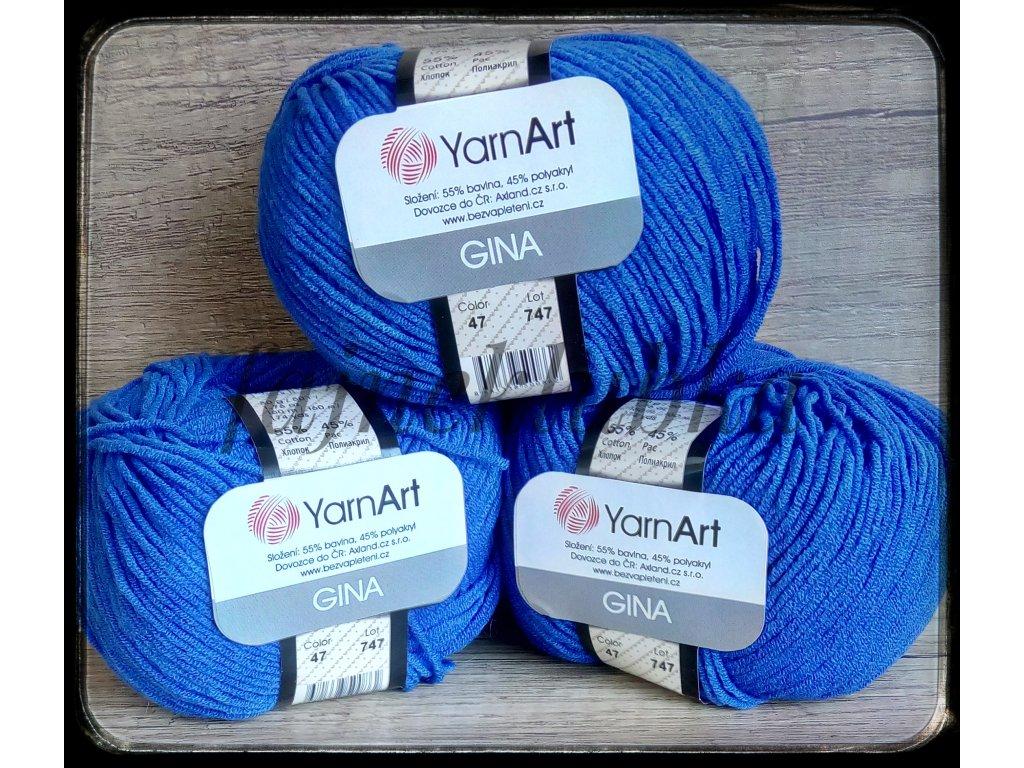 Jeans / Gina 47 Tmavě modrá