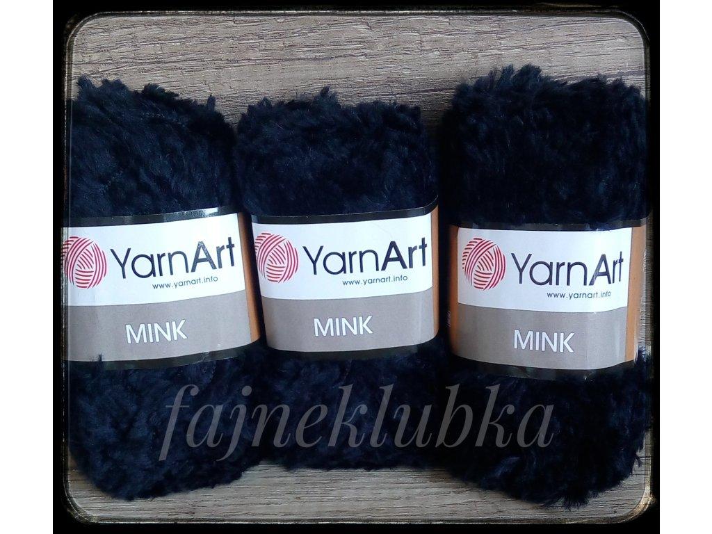Mink 346 Černá