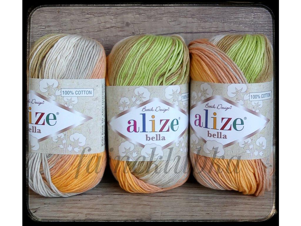 Příze Bella batik 3675