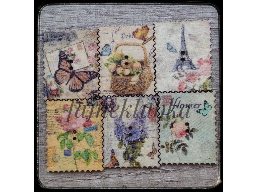 Knoflík Provance známka