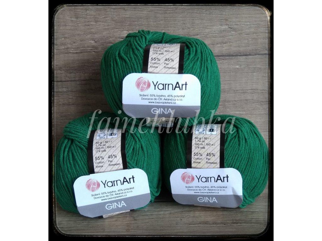 Jeans / Gina 52 Tmavě zelená