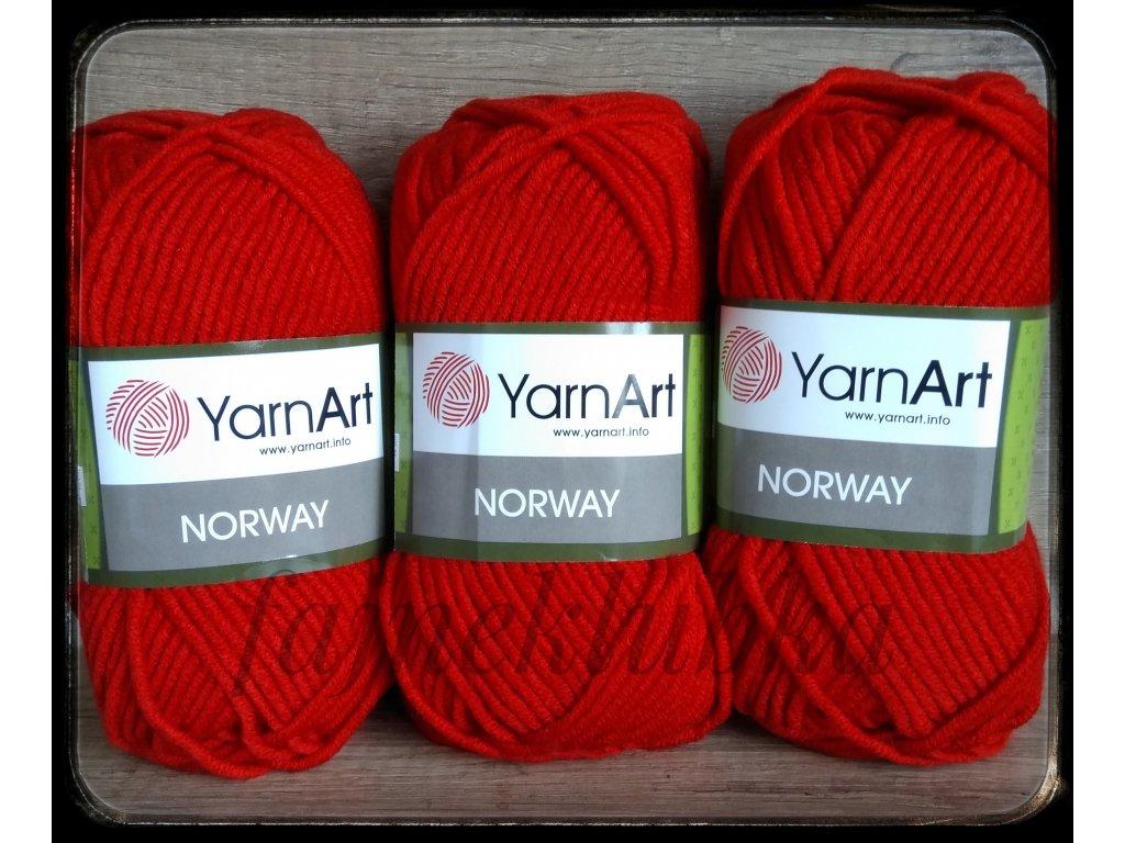 Norway 41 Červená