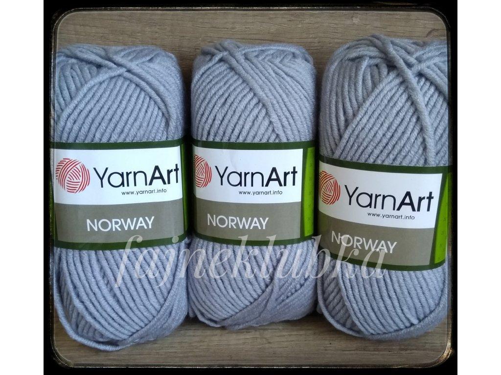 Norway 3072 Světle šedá