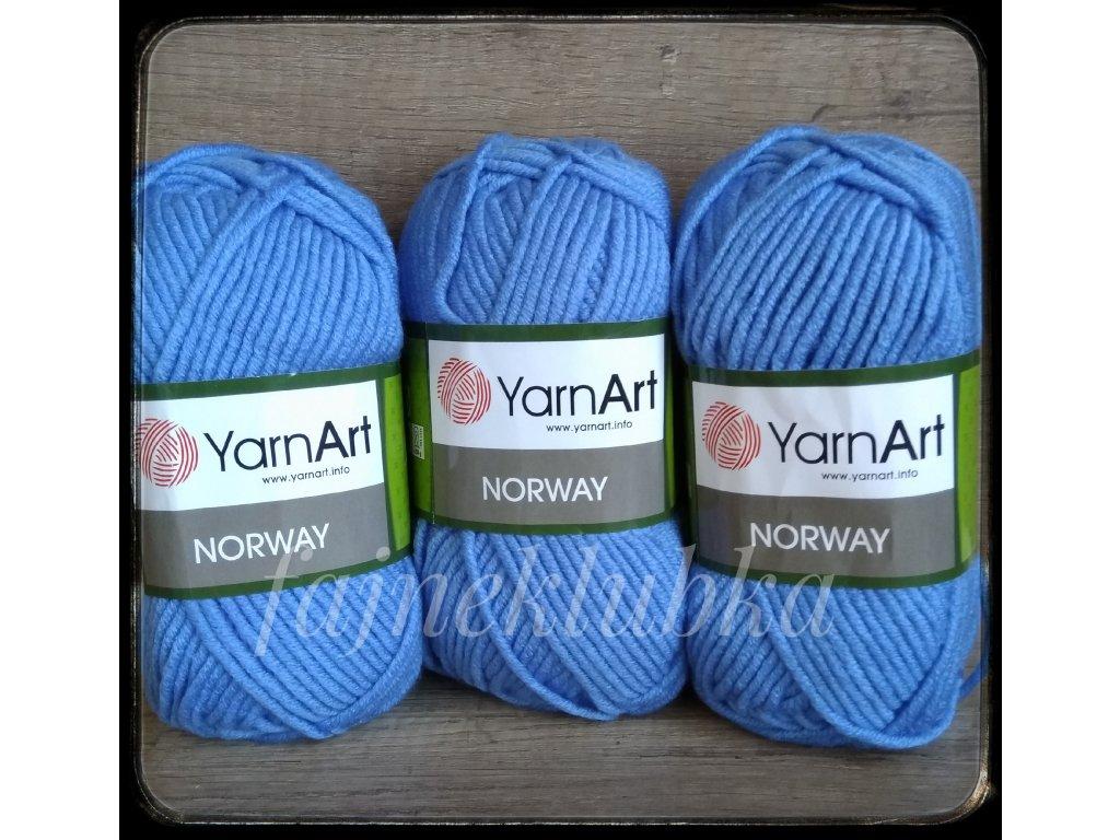 Norway 224 Světle modrá