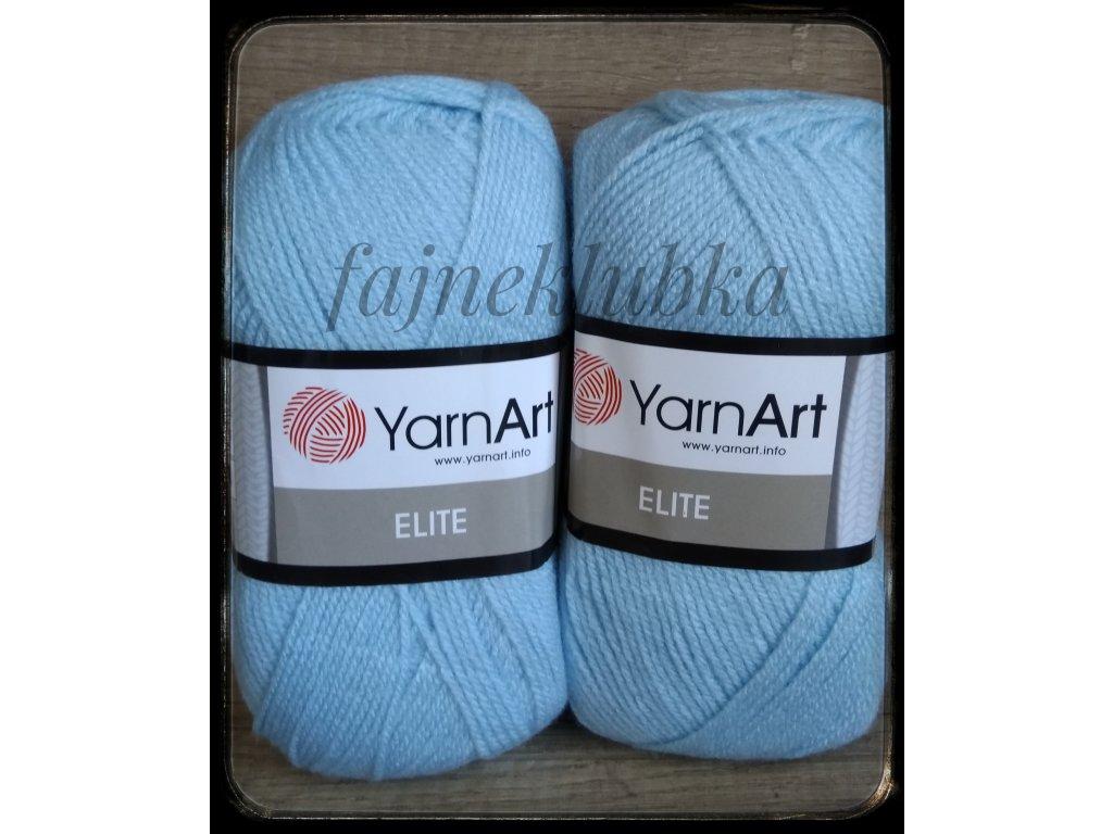 Elite 09 Světle modrá