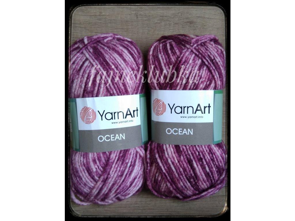 Ocean 114 Růžový melír