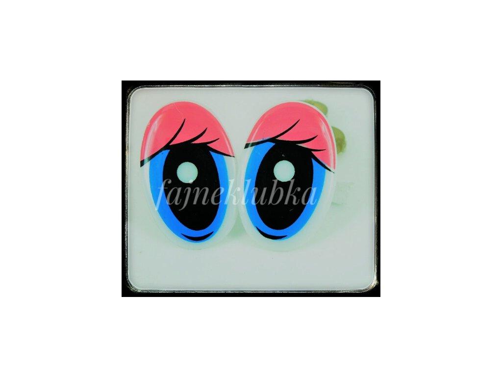 Růžové bezpečnostní oči 01