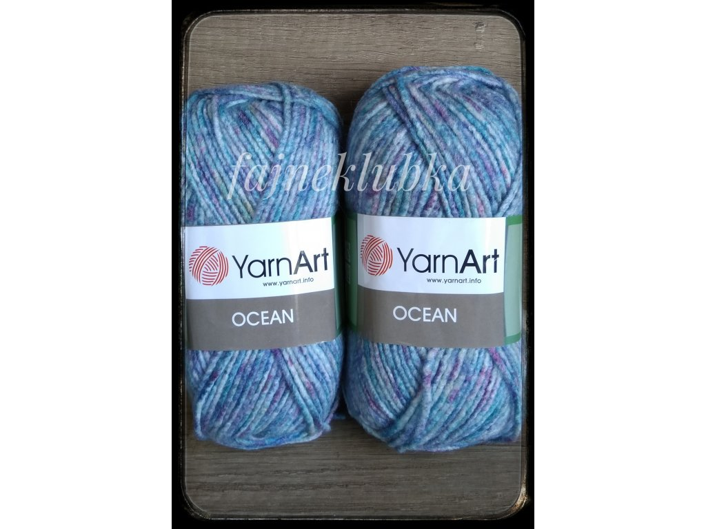 Ocean 118 Modrorůžový melír