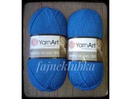 Merino de Luxe 3040 Modrá