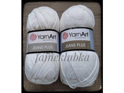 Jeans plus / Gina plus 01 Bílá