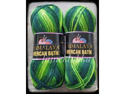 Mercan Batik 59509 Zelený melír