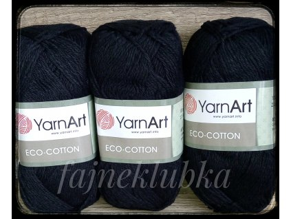 Eco Cotton 761 Černá