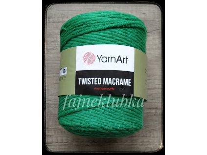Twisted Macrame 759 Zelená