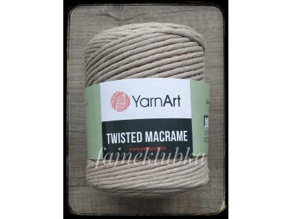 Twisted Macrame 753 Béžová