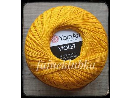 Violet 5307 Tmavě žlutá