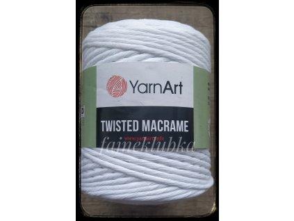 Twisted Macrame 751 Bílá
