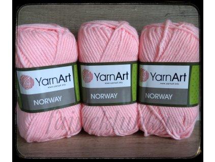 Norway 20 Růžová