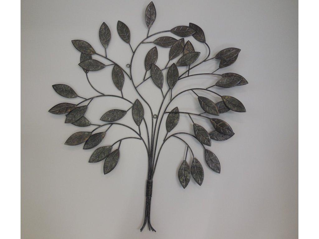 Kovové strom stříbrný