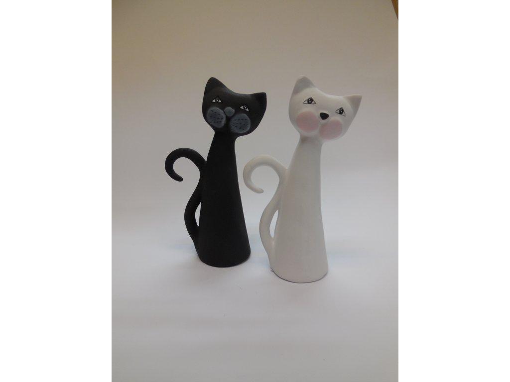 Keramické kočky