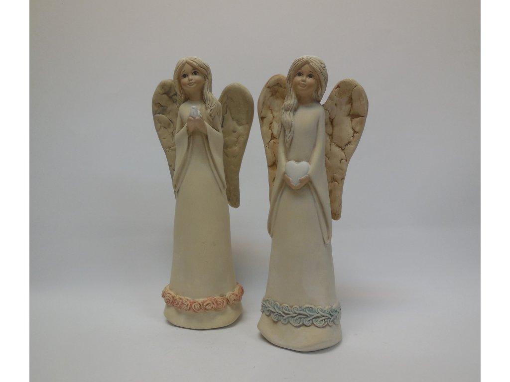 Anděl béžový