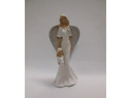 Anděl s dívkou