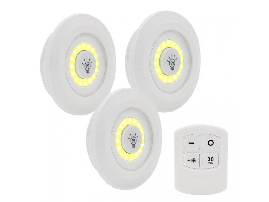 mainimage13 pcs Remote Control LED Night Light Bedside Lamp Closet Lights Super Bright Under Cabinet Lamp