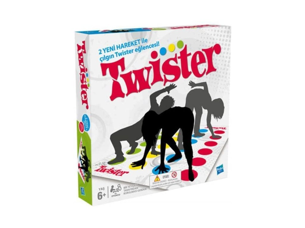 mainimage0Twister Hasbro Games Outdoor Funny Game Board Games for Family Friend Party Fun Game For Kids