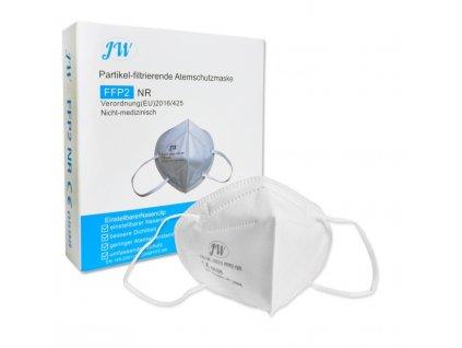 Atemschutzmaske FFP2 1 Stueck CNJW 2020 patikelfiltrierende Halbmaske Atemschutzfilter