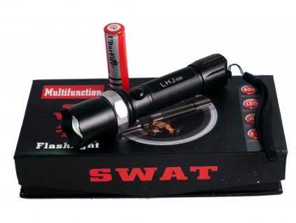 2911 1 multifunkcni policejni baterka swat dosvit az 200 metru