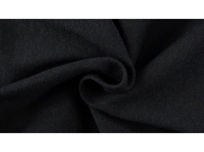 Napínací Jersey prostěradlo černé 048 #01