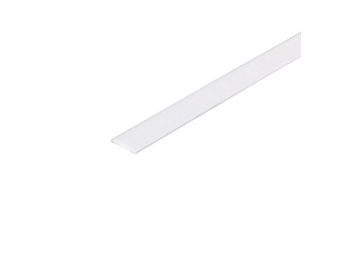Mléčný nasouvací difuzor na profil 1cm/200cm/0,08cm