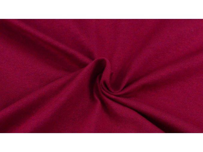 Napínací Jersey prostěradlo barva vínová 020 #01