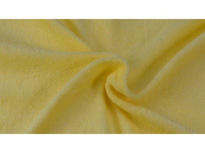 Napínací froté prostěradlo citrus 004 #01
