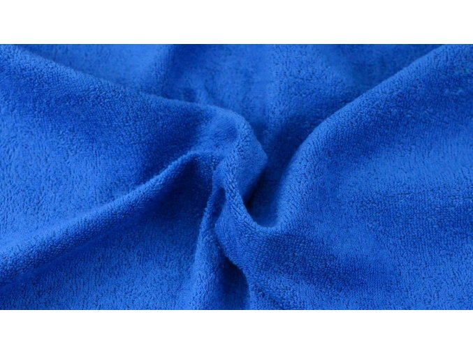 Napínací froté prostěradlo tmavě modrá 026 #01