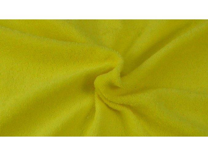 Napínací froté prostěradlo citron 043 #01