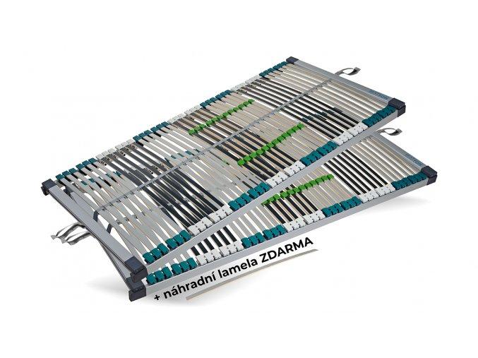 Lamelový rošt SILVERTON 42 FIX 90x200 cm SADA 1+1 nepolohovací #01