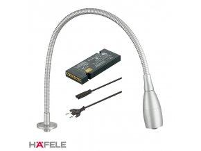 1 ks Lampička LOOX LED 2018 12V Povrchová montáž + Driver 12V/15W + Napájecí kabel