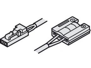 Kabel s klipem pro LED pásek 8mm/12V/3,5A/2,0m