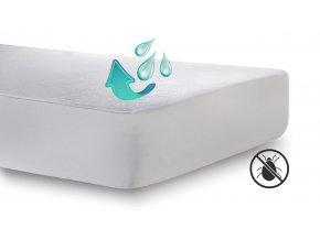 Nepropustný chránič matrace s výškou bočnice 35 cm #01