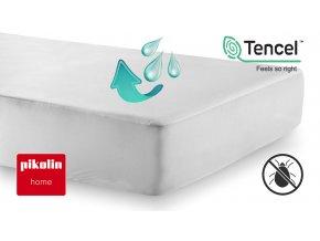 Nepropustný chránič matrace TENCEL® PIKOLIN HOME s výškou bočnice 35 cm #01