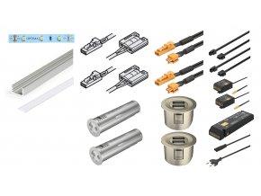 set LED USB