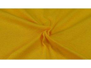 Napínací Jersey prostěradlo sytě žlutá 005 #01