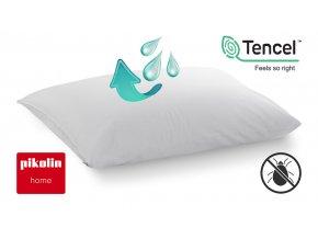 Nepropustný chránič polštáře TENCEL® PIKOLIN HOME 50x70 cm #01