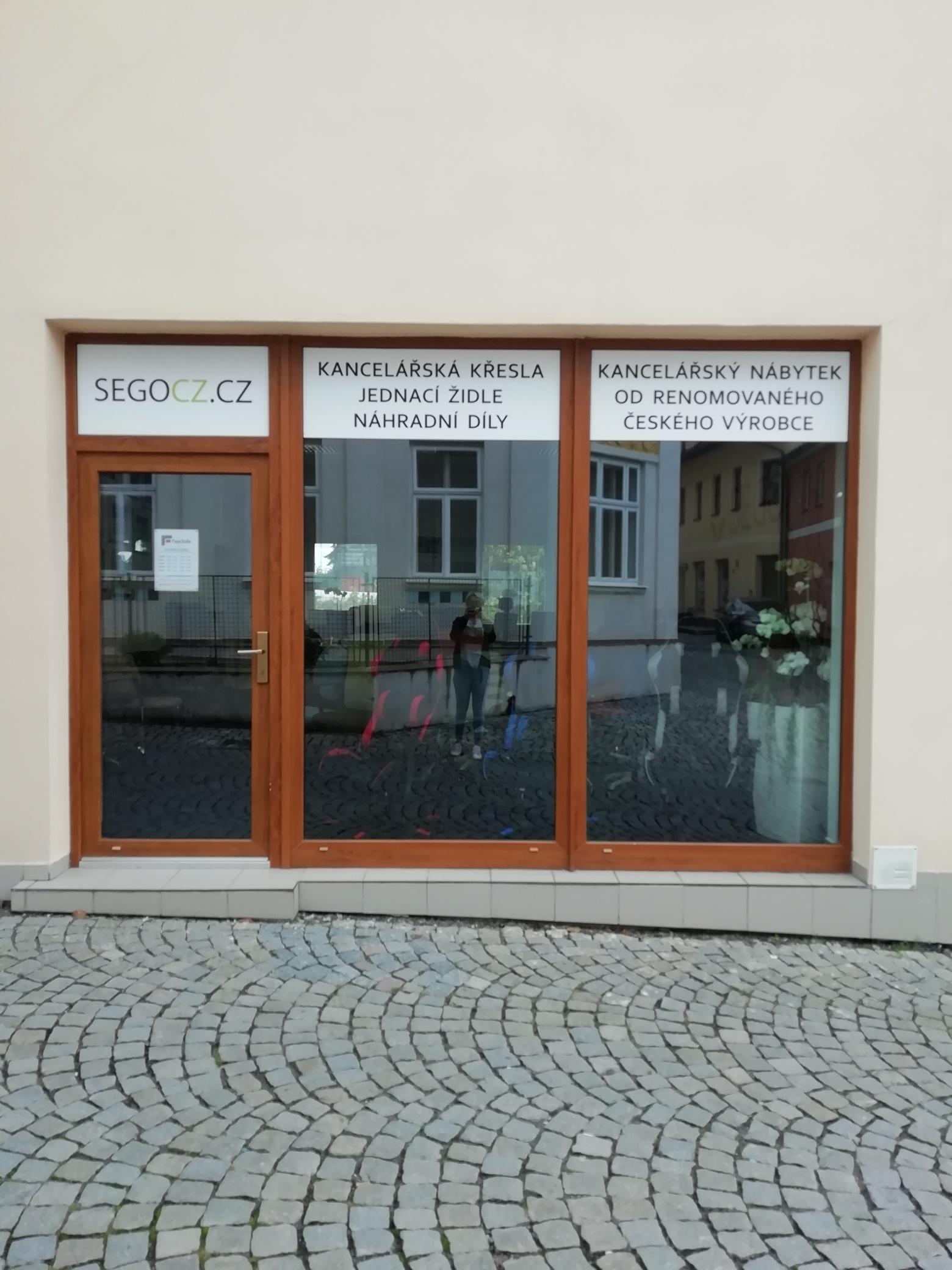 Prodejna kancelářských židlí Lanškroun