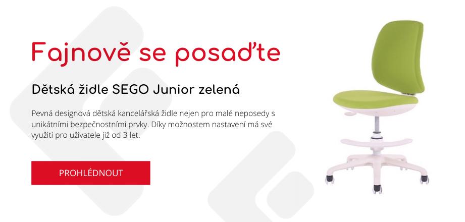 SEGO Junior zelená