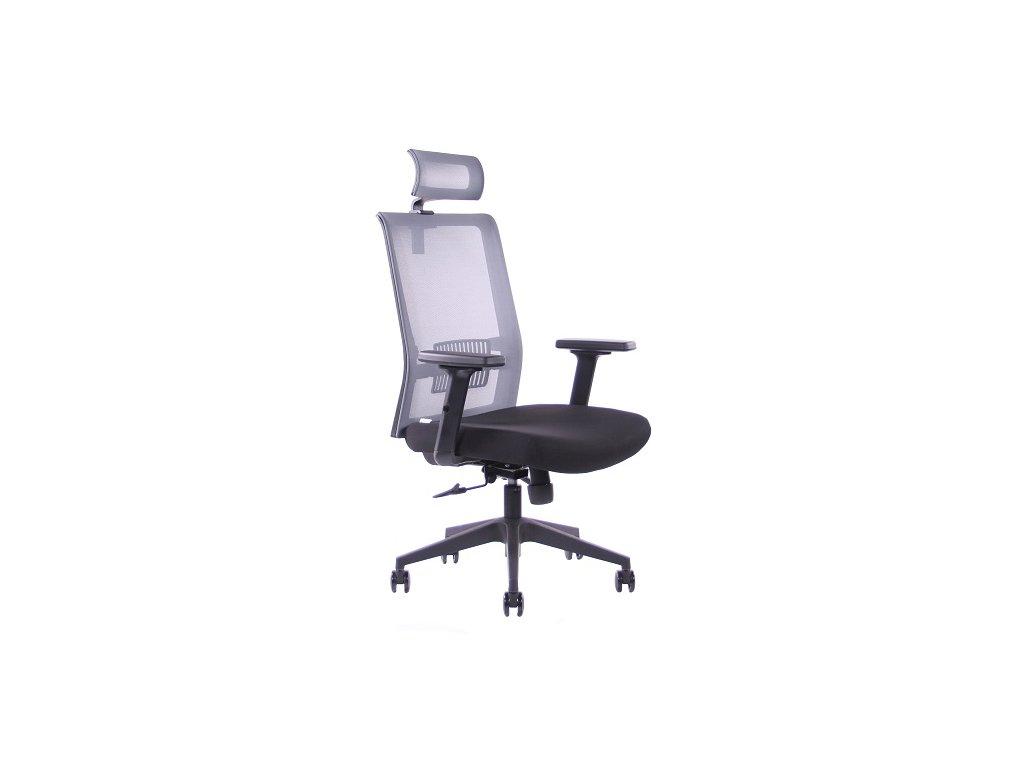 Kancelářská židle SEGO Pixel šedá