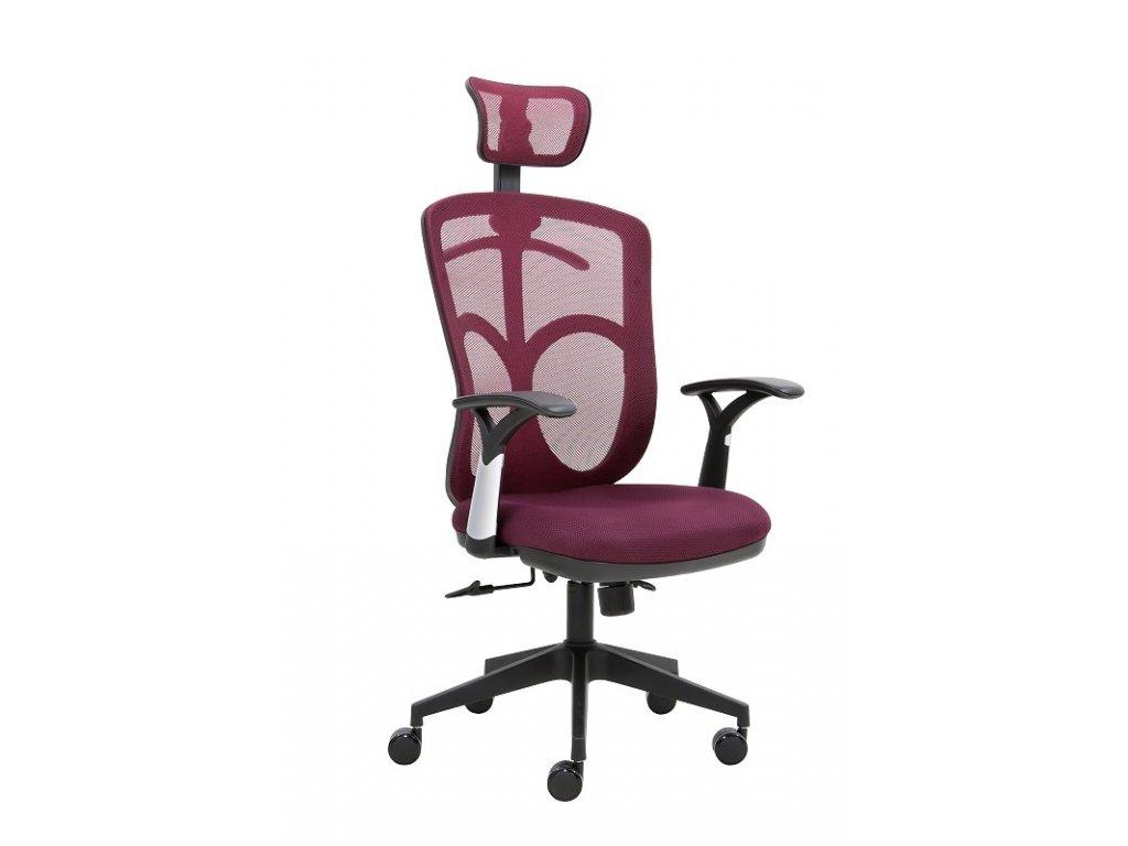 Kancelářská židle SEGO Marki vínová