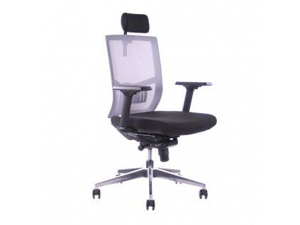 Kancelářská židle SEGO Andy AL šedá
